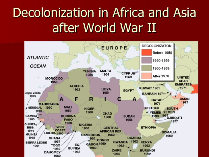 a history of independence of africa and asia Colonialism and nationalism in southeast following the european discoveries of a sea route around africa's m 2001, southeast asia:a modern history.